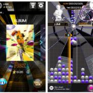 モブキャスト、『LUMINES パズル&ミュージック』で初代「Rez」と『LUMINES』がコラボした「Rez PACK」(600円)を世界同日配信開始