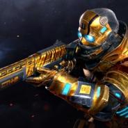 カヤック、『モダンコンバット Versus』でゴーストの新スキン「GOLDEN SUIT」が期間限定でガチャに登場