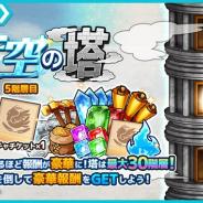 アルファゲームス、『ワンモア・フリーライフ・オンライン・モバイル』で新イベント「天空の塔」を開催︕