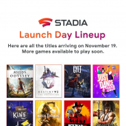 Google、『Stadia』のローンチタイトル公開 『アサシンクリードオデッセイ』や『サムライスピリッツ』など