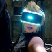 『ファイナルファンタジーXV』のPSVR向けコンテンツの映像が公開 待望のシリーズ最新作の迫力あるバトルシーンをVRで体験