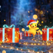 『ポケモンGO』で「Pokémon GO ホリデー」が開催! 「デリバード」がこおりタイプのポケモンと一緒に登場 真っ赤な帽子を被った「ピカチュウ」も!?