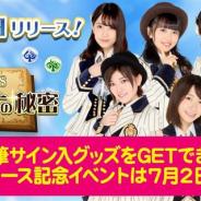 アイア、『AKB48 アルカナの秘密』を「I-SKY」で配信開始 AKB48メンバーの直筆サイン入りグッズがもらえる超豪華リリース記念イベントを開催!