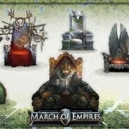 ゲームロフト、『マーチ オブ エンパイア』で新システム「覇権の王座」の追加を含む大型アップデートを実施!