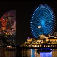 スクエニ、高さ日本一のプロジェクションマッピングイベント 海洋都市ヨコハマ「龍神バハムート、襲来。」の来場者数は2日間で10万人以上