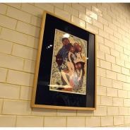 アニプレックス、『Fate/Grand Order』と江戸浮世絵木版画がコラボ…美人画として描かれた「フォーリナー/葛飾北斎」が木版画になって登場