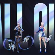 ライアットゲームズの複数のゲームタイトルにLoLのチャンピオン(キャラクター)で構成されるバーチャルポップグループ「K/DA」が登場!