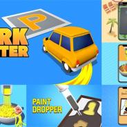 カヤック、ハイパーカジュアルゲーム『Park Master』『Noodle Master』『Paint Dropoer』が全世界で合計1億ダウンロードを突破