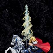 『Fate/Grand Order』のランサーのサーヴァント「ランサー/アルトリア・ペンドラゴン」がスケールフィギュア化…価格は税込2万4,800円