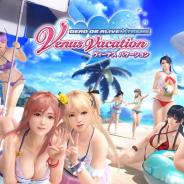 コーエーテクモ、9月中間決算で『DEAD OR ALIVE Xtreme Venus Vacation』の売上が過去最高と明かす…11月の3周年でさらなる飛躍も