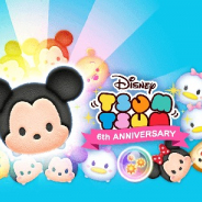 LINE、6周年を迎える『ディズニー ツムツム』が8500万DL突破 29日はハート消費なしのプレイし放題