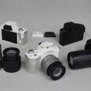 タカラトミーアーツ、キヤノン協力のもとガチャ商品「Canon EOS Kiss M フラッシュ&サウンド ミニコレクション」を12月下旬より発売!
