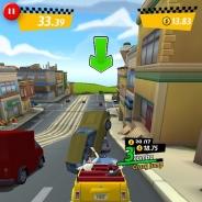 セガネットワークス、『クレイジータクシー』の最新作となる『Crazy Taxi:City Rush』Android版をリリース