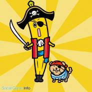 グリー、『海賊王国コロンブス』にテレビ東京のキャラクター・バナナ社員「ナナナ」が登場! コラボイベントが3月31日より順次開催