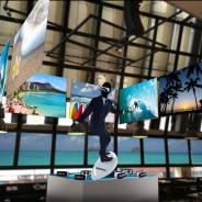 Galaxyの最新スマホやVRが一度に体感できるカフェ「Galaxy Cafe」が7月14日より期間限定オープン スーツ姿のVRサーファーも出現!?