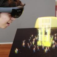 映像プロダクションの太陽企画、HoloLensを使用したコンテンツ「HOLOBUILDER」をリリース・・・複合現実でユーモラスに動くAR作業員を見てみよう