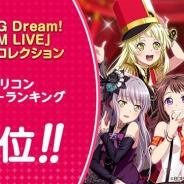 ブシロードとCraft Egg、『ガルパ』で「BanG Dream! FILM LIVE」劇中歌コレクションのオリコンデイリー9位を記念して「スター×100」をプレゼント