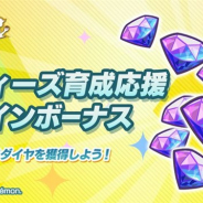 ポケモンとDeNA、『ポケモンマスターズ』で「バディーズ育成応援ログインボーナス」を開催 14日間ログインで「ダイヤ」2100個をプレゼント
