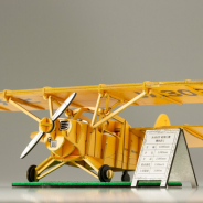 コトブキヤ、世界にただ一機の飛行機「R-HM型軽飛行機」を紙製の3Dパズルで立体化!