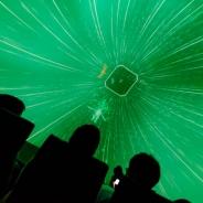 見渡す限りがパーティクル、日本科学未来館で開催した「VR to Dome実験 Rez Infinite」をレポート