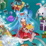 X-LEGEND ENTERTAINMENT、『幻想神域 -Link of Hearts-』の幻神ガチャにXmas衣装の「フェンリル(CV:久野 美咲さん)」を追加