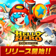 Fincon、新作縦型ファンタジーRPG『ハローヒーロー: Epic Battle』を配信開始! 最高レアキャラ1体もらえるキャンペーンを実施中
