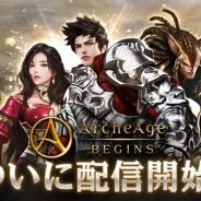 GAMEVIL COM2US Japan、『アーキエイジビギンズ』のサービスを2018年8月10日をもって終了