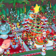 Bucketplay、リゾート経営シミュレーション『マイ·リトル·パラダイス』でクリスマスイベントを開始! クリスマス限定アマギフが当たるRTキャンペーンも