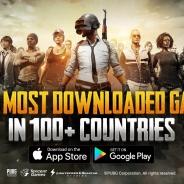 『PLAYERUNKNOWN'S BATTLEGROUNDS(PUBG) MOBILE』グローバル版、100以上の国や地域でダウンロード数No.1を獲得!