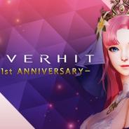 ネクソン、『OVERHIT』1周年記念CP開催 SSR英雄のパワーアップやピックアップガチャなどを実施!!