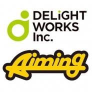 ディライトワークスとAimingが資本業務提携 双方の強みを活かしたスマホゲームを共同開発 ディライトワークスがAimingの実施する7.5億円の増資を引き受け