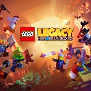 ゲームロフト、『レゴ レガシー:レゴのヒーローが勢ぞろい!』をApp Store、Google Play、Microsoft Storeにて配信開始!