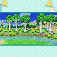 任天堂、『どうぶつの森 ポケットキャンプ』でキャンプ場きせかえパーツに「なつのしらかば」が登場