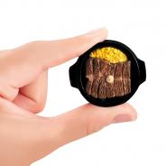 バンダイ、「いきなり!ステーキ いきなり!ミニチュアマスコット」を11月第2週より順次発売! 本物のステーキを3Dスキャンしたガシャポン!?