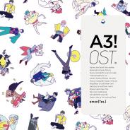 ポニーキャニオン、イケメン役者育成ゲーム『A3!』のオリジナルサウンドトラックのジャケット・曲目リストを公開!