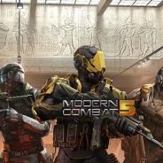 ゲームロフト、『モダンコンバット5』で新たなプレステージ武器のセットやスーツを追加するアップデートを実施