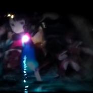 一夜限りのお披露目となった『Fate/Gramd Order』水幕電子描画…巨大な水幕に描かれた北斎らの宝具演出は迫力満点!