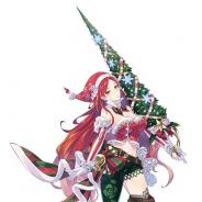 セガゲームス、『イドラ ファンタシースターサーガ』で期間限定のクリスマスイベントを12月18日より開催 サンタ衣装の★5「ローザリンデ」が登場