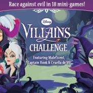 ディズニー、悪役キャラクター「ディズニー・ヴィランズ」をテーマにしたミニゲーム『Disney Villains Charenge』をApp Storeで配信開始