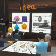 Synamon、「VR・AR活用全国セミナー関東・さいたま新都心」に出展 VR空間で遠隔会議やブレストを行うデモを展示