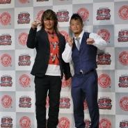 新日本プロレス『プロレスやろうぜ!』発表会…団体自らの企画だからこそ実現した数々のこだわりと奥深いゲームシステム 棚橋選手とKUSHIDA選手がデモプレイ