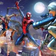 ゲームロフト、『スパイダーマン・アンリミテッド』が累計100万DLを突破! 6種類の新スパイダーマン登場などの最新アップデートを実施