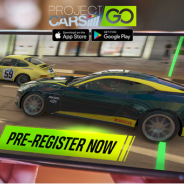 GAMEVIL、モバイルワンタッチレーシングゲーム『Project CARS GO』のグローバル事前登録を開始!