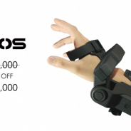 exiii、VR触覚デバイス「EXOS Wrist DK2」の価格を60万円から半額に
