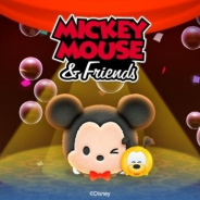 LINE、『LINE:ディズニー ツムツム』でミッキーマウスの誕生日を記念したイベント&ペアツム「ミッキー&プルート」を追加