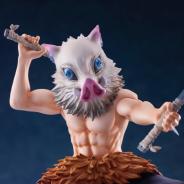 アニプレックス、TVアニメ「鬼滅の刃」の嘴平伊之助が1/8スケールフィギュアを発売