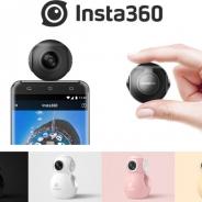 アスク、Androidスマホに接続できる360度ビデオカメラ「Insta360 Air」の取り扱いを開始