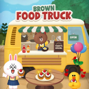 LINE、6角形パズルゲーム『LINE POPショコラ』で期間限定イベント「フードトラック」を開催中!