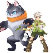 X-LEGEND、『Ash Tale-風の大陸-』で召喚したネコと一緒に戦う新職業「サモニャー」登場!! レアアイテムが当たる期間限定のガチャも開催