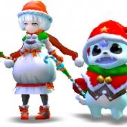 Donuts、『宿星のディストピア』でクリスマス仕様の式神やコスチュームがもらえるクリスマスイベントダンジョンを実施